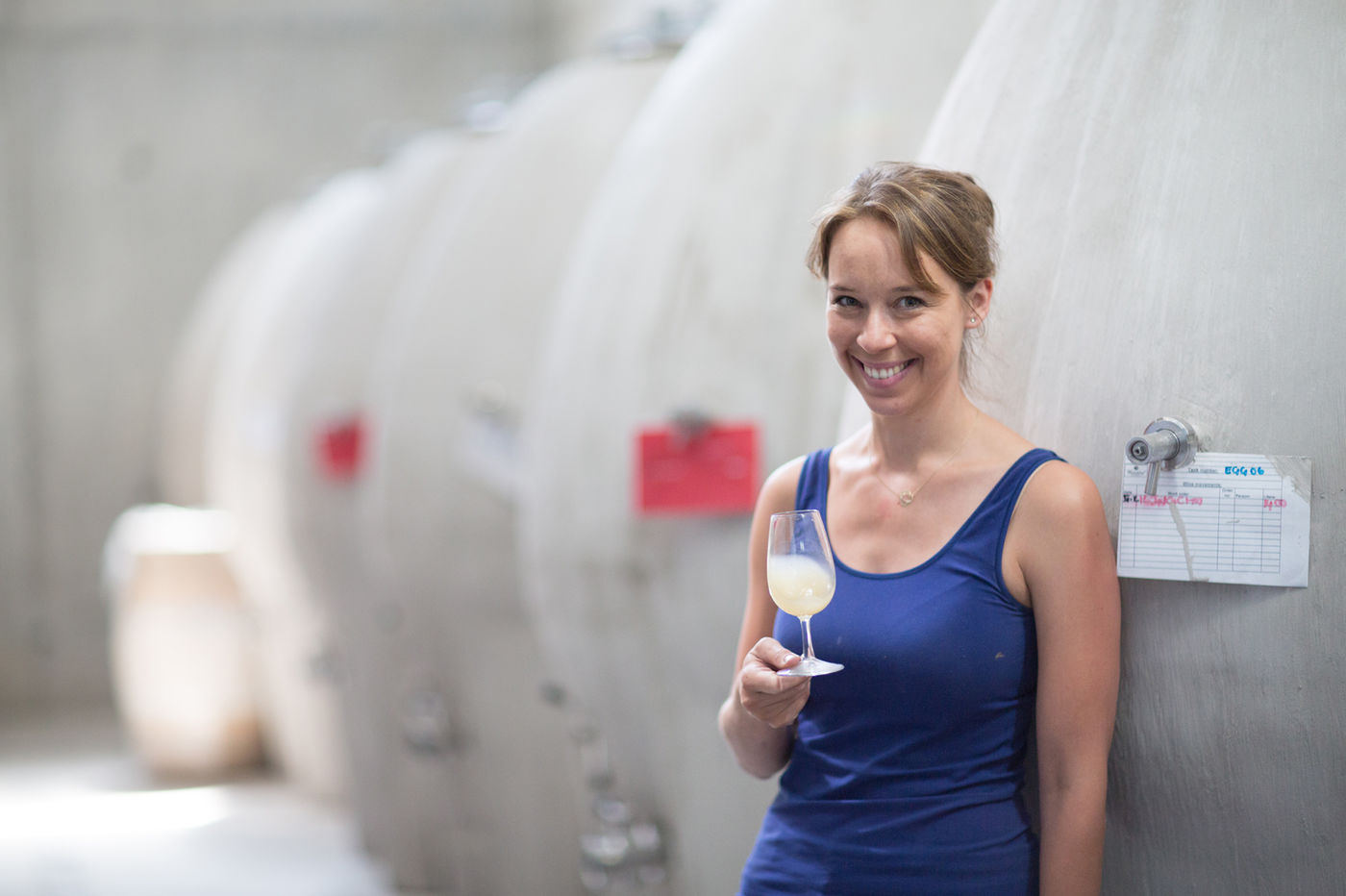 Waterkloof Winemaker Nadia Barnard