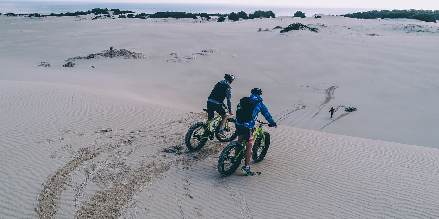 Elim Wine Route Fat Biking In The Dunes Of Gansbaai  Image Shawn Ugulu Wesgro