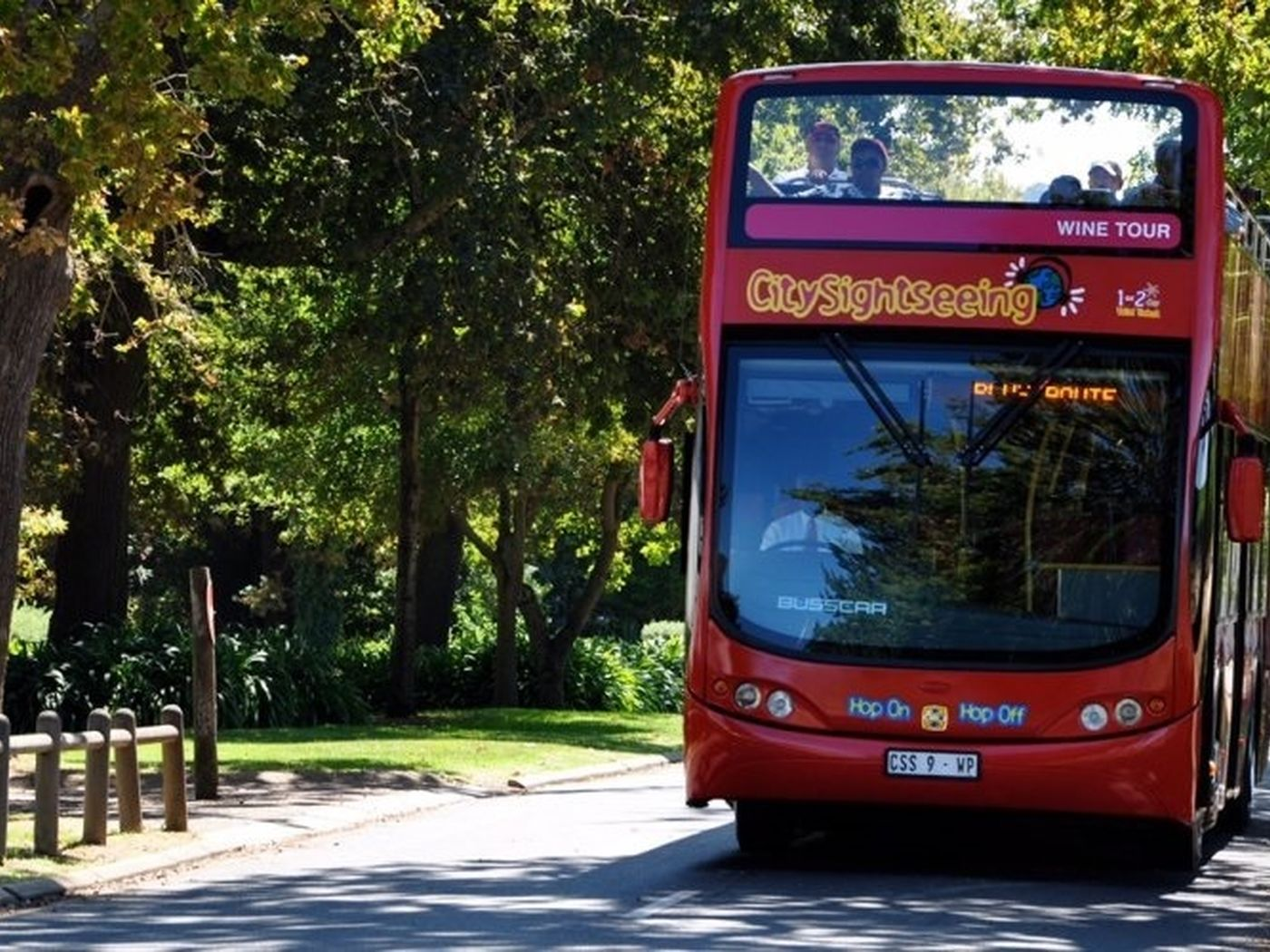 City Sightseeing Constantia