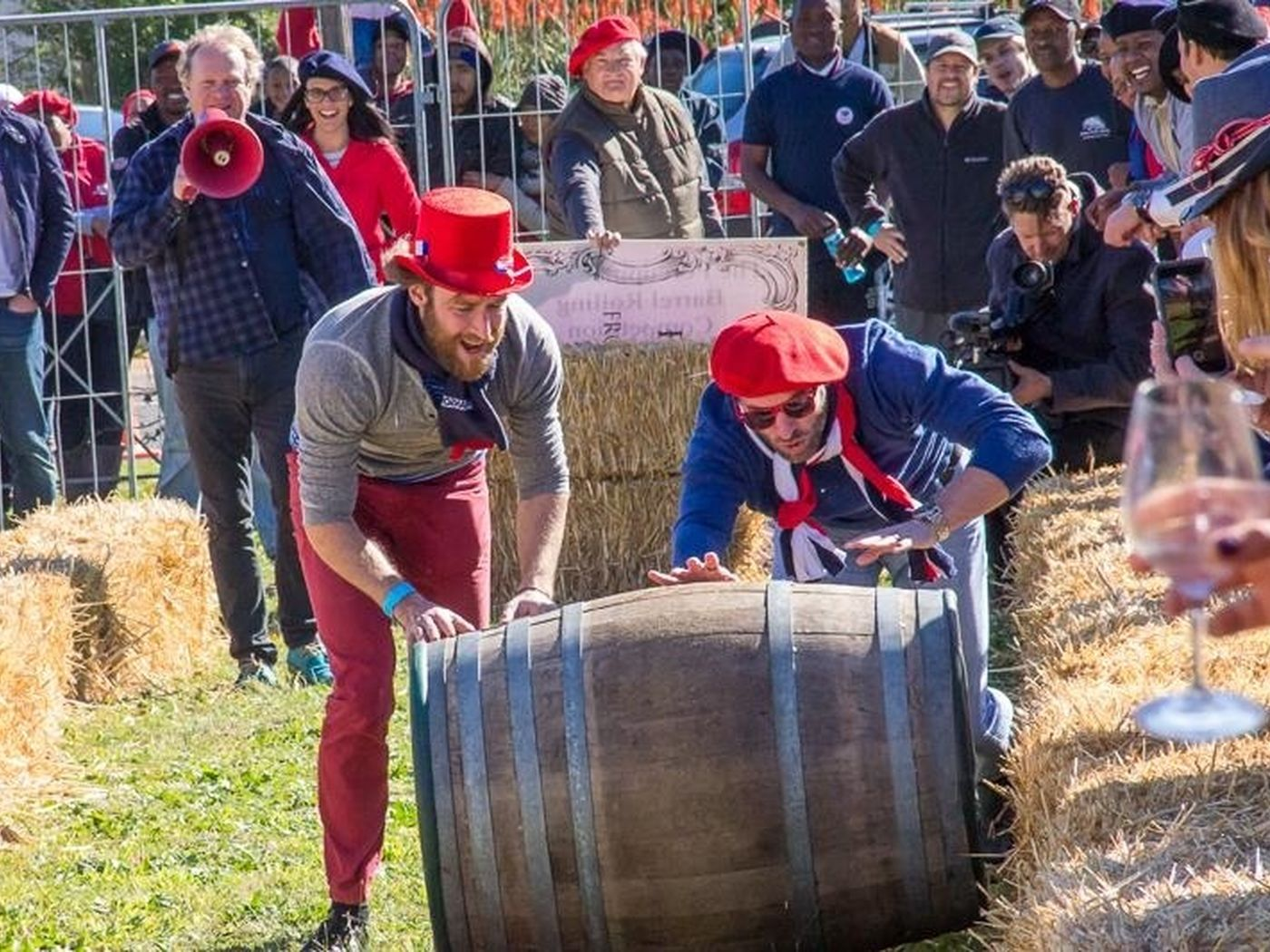 Barrell Rolling Competition Bastille