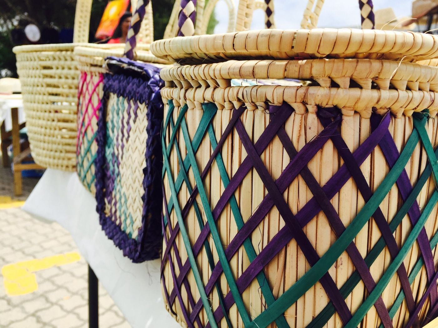 Plett Beachfront Market Baskets
