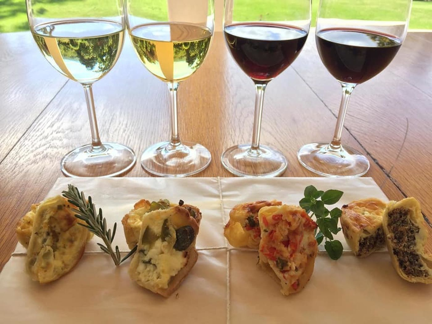 Elgin Vintners Quiche And Wine2
