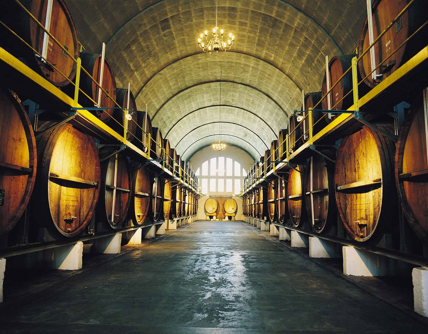 Kwv Cellars Renowned Cathedral Cellar South African Tourism