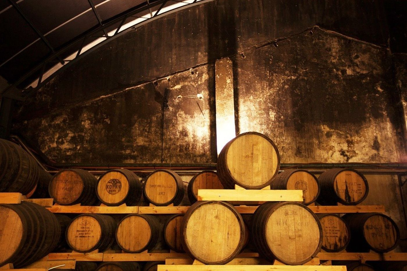 Potstill Brandy Maturing For Three Years